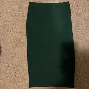 Forever 21 Midi Skirt: Never Worn